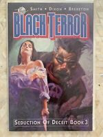 THE BLACK TERROR SEDUCTION OF DECEIT BOOK 3 1990 ARTIST DAN BRERETON Eclipse