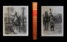 [EMPIRE Reliure maroquin signée] MASSON / DETAILLE (ill.) - Cavaliers Napoléon.