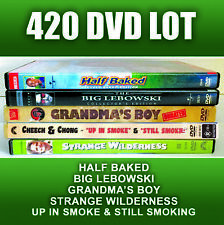 420 Weed DVD Half Baked Big Lebowski Grandma Boy Up Smoke Dave Chappelle Cheech