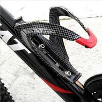 Road Bicycle Bike V Shape Water Bottle Holder Carbon Fiber Bottle Rack Cage