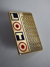 Pin's Vintage French of Games Grill Lotto in colour 90s Set P002