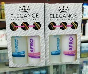 Kit (2 cajas) Tratamiento Cirugía Capilar Elegance Profesional AFRO  2oz (60 ml)