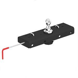 Curt 60607 Double Lock Gooseneck Hitch, 30000 lb. GTW