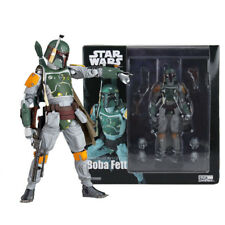 Star Wars Revoltech Boba Fett PVC Action Figure Collectible Model Toy