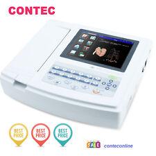 CE CONTEC ECG1200G TOUCH SCREEN software ekg elettrocardiografo stampante PC