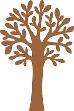 Mdf blanc arbre généalogique forme pour craft, decoupis etc, 200mm haut