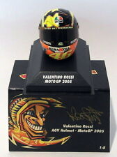 Minichamps 1/8 Scale 397 050046 - AGV Helmet Moto GP 2005 V. Rossi