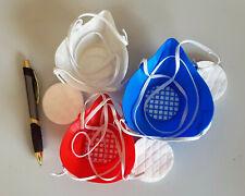 Mund- Nasen- Behelfs- Alltags- Maske mit Austausch-Filter (3D Druck)