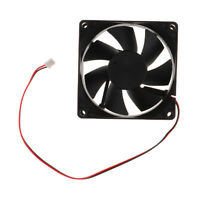 80x80x25 mm Cooler Master 8cm Round PC CPU Ventilateur 2 pin Cooling Silent
