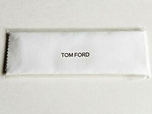 Brand New GENUINE TOM FORD Designer Microfiber Eyeglass/Sunglass Cleaning Cloth!