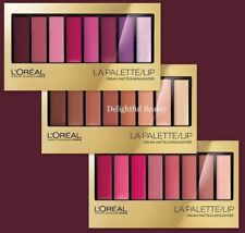 L'Oréal Paris La Palette Lip Cream, Matte & Highlighter