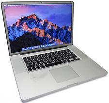 "Apple MacBook Pro 17"" Quad Core i7-2720QM 2.2GHz 500GB 8GB Early2011 Matte Nicks"