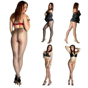 Cecilia de Rafael Eterno Super Lucido 10 Sexy Ultra Sheer Glossy Shiny Pantyhose