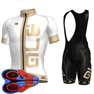 Mens Short Sleeve Bike Outfits 2021 Team Cycling Jersey Sets Bicycle Uniform