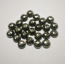 10 pieces 4mm Golden Pyrite Rosecut Round Gemstone, Pyrite AAA Quality Gemstone