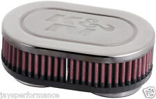 "KN UNIVERSAL AIR FILTER (RC-2380) 2-1/8""DUAL, 6-1/4 X 4""OD,1-3/4""H"