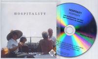 HOSPITALITY s/t 2012 UK 10-trk promo test press CD