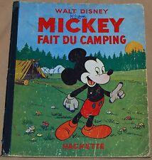 MICKEY -15- / Mickey fait du camping / RE 1949 / BE-