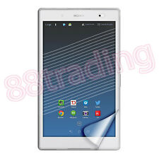 2 x FRONT LCD CLEAR SCREEN PROTECTOR FOR SONY XPERIA Z3 TABLET COMPACT 8 INCH