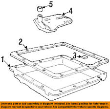 GM OEM Automatic Transmission-Pan Gasket 8677743