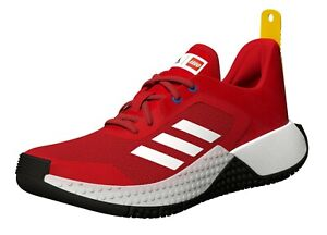 adidas X LEGO Sport Shoes Red Sneakers FX2865 Size 6