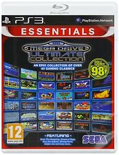 SEGA MEGA DRIVE-ULTIMATE COLLECTION PAL PS3 (nuevo Y Sellado)