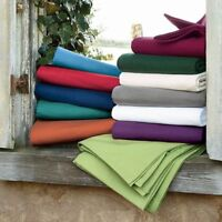 Queen Size Complete Bedding Collection 1000TC Egyptian Cotton Select Color