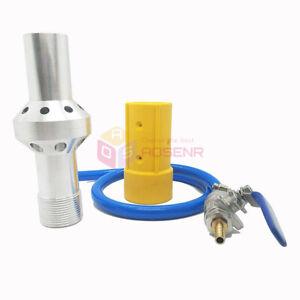 High Pressure Dustless Water Sandblast Gun 8/10mm Sandblasting Machine Part