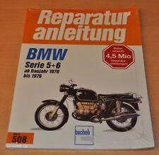 BMW Serie 5 + 6 R 50/5 60/5 75/5 60/6 75/6 90/6 90 S  Reparaturanleitung B508