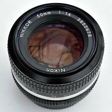 Nikon Nikkor 50mm f/1.4 AI Converted Manual Focus Lens. Exc+++. See tst pics.
