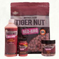 Dynamite Baits Monster Tiger Nut Red Amo Range Boilies,Pop Ups,Liquid Attractant