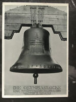 Mint 1936 Berlin Germany Olympics Bell Real Picture Postcard RPPC
