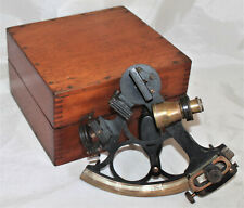 Watts London 3-Circle Sextant for Dutch Market in Case 1924