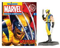 Eaglemoss Classic Marvel Figurine Collection #2 WOLVERINE w/Mag NEW FREE SHIP