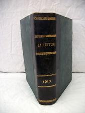La Lettura Rivista Mensile 1918 Annata Completa Corriere della Sera Collezione