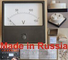 300-0-300mA DC±1.5% 80x80mm Russia M42300 ampmeter ampere meter current gauge
