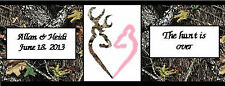 120 Camo Camouflage Browning Wedding Birthday Bubble Wrapper Favors Labels