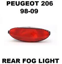 PEUGEOT 206 Valeo 88789 Rear Car Fog Light Replacement Part