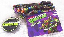 NEW! Nickelodeon Teenage Mutant Ninja Turtles Lanyard Chain Card Holder ~