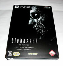 Ps3: Biohazard/resident Evil HD remaster LIMITED EDITION BOX-Japon Import -