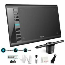 Ugee M708 Graphic Drawing Tablet, 10x6 in - Black (FBA_UG-M708-US)