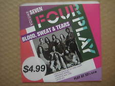 "BLOOD, SWEAT & TEARS Four Play AUSSIE 4 TRACK 7"" EP 1988 - 651085 7 - NEAR MINT"