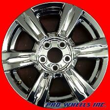 "SET OF 4 GMC TERRAIN 17X7"" PVD CHROME FACTORY ORIGINAL WHEEL RIM 5642 PVD"