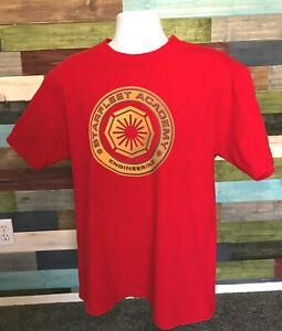 Star Trek Starfleet Academy Engineering Adult Large T Shirt