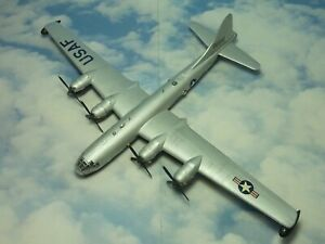 Boeing B-29 Superfortress 1/144 kit built & finished for display