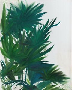 Palmetto - Oil on canvas painting