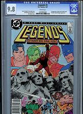Legends #3 CGC  9.8 NM/MT 1987 1st New Suicide Squad DC Amricons K18