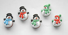 Jolly Snowmen Buttons / Buttons Galore Holiday Collection / Shank