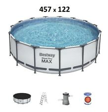 Bestway Steel Pro MAX 457 x 122 cm Pool  Bestway 56438  Modell.2021 m.Zubehör