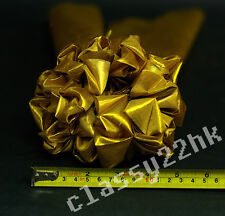 PROMOTION HIGH QUALITY GOLD RIBBON BALL  (1 SET) FOR LION DANCE OR WEDDING PARTY